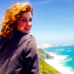 Here I am at the most Northern point in New Zealand, Cape Reinga.
